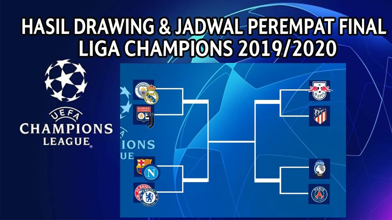 Hasil Drawing Final Liga Champions 2019/2020 - Jadwal ...
