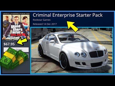 GTA 5 Online - Rockstar Selling MODDED Accounts??? Criminal Enterprise Starter Pack! Details (GTA 5)