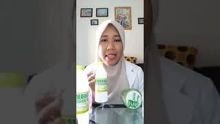 Cara membuat hand sanitizer dengan moreskin aloe vera nasa