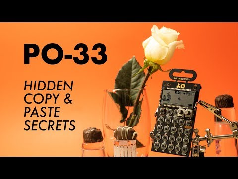 PO-33 KO! Hidden Copy & Paste Secrets.
