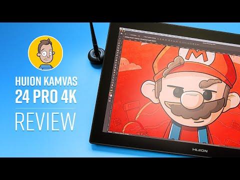 Huion Kamvas 24 Pro 4k Review (2021)