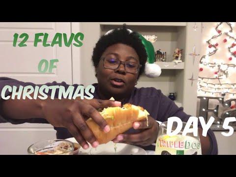 12 Flavs Of Christmas: Po'Boy Seafood Sandwich