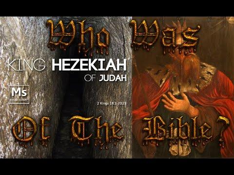 Who Was King Hezekiah Of The Bible?