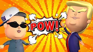 Donald Trump vs Kim Jong Un - Funny Animation