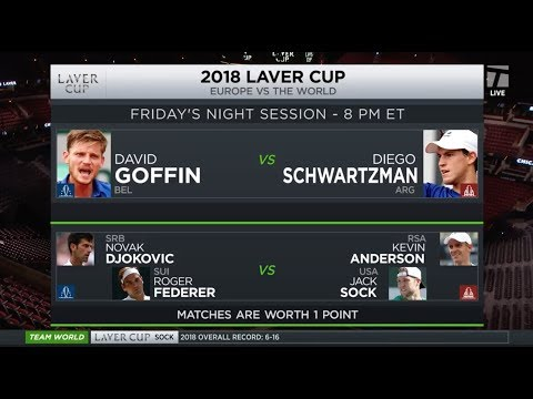 Tennis Channel Live: 2018 Laver Cup Day 1 Preview | Federer & Djokovic Doubles