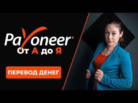 Payoneer от А до Я - Перевод Денег на Банковский Счет   Видео 3