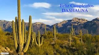 DaShauna  Nature & Naturaleza - Happy Birthday
