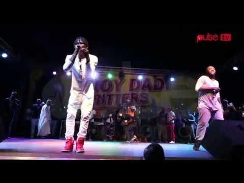 Stonebwoy Performance at Ultimate Fan Zone Concert, Koforidua