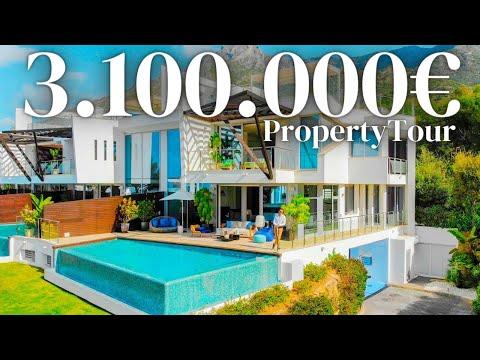 INSIDE most Expensive Townhouse in Marbella, Spain #Sierrablanca