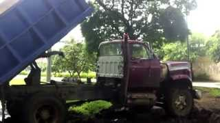 Stuck in Mud old dump Truck part 4