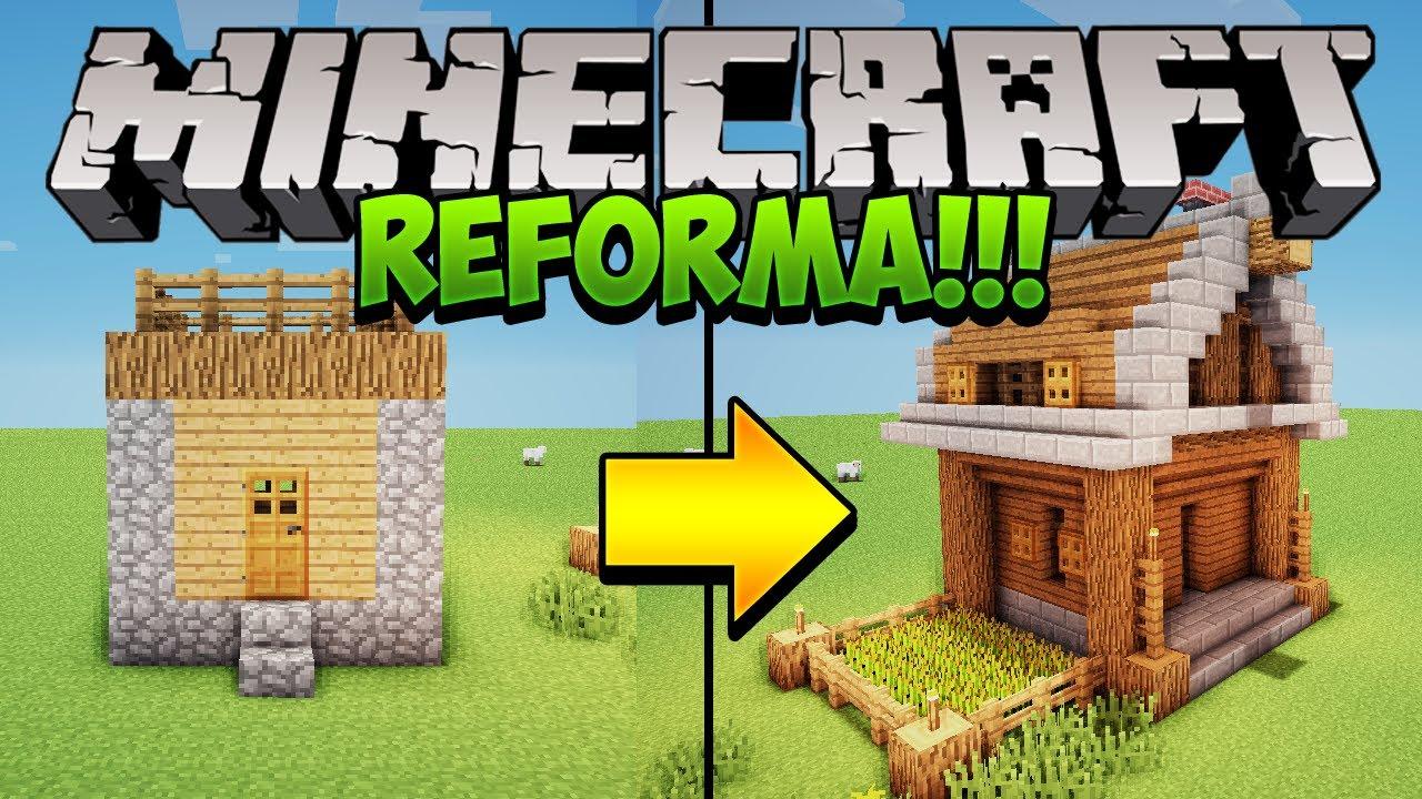 Minecraft deixe as casas de vilas mais bonitas youtube - Reformas en casas pequenas ...