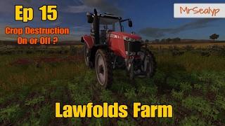 Let's Play Farming Simulator 17 PS4: Lawfolds Farm, Ep 15
