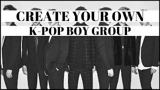 Erstellen Sie Ihre Eigenen K-pop-Boy-Band #1