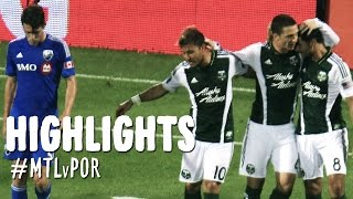 HIGHLIGHTS: Montreal Impact vs. Portland Timbers | July 27, 2014
