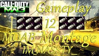MW3 | 12 MOAB | Gold MK14 Montage | IM_NASSTY__