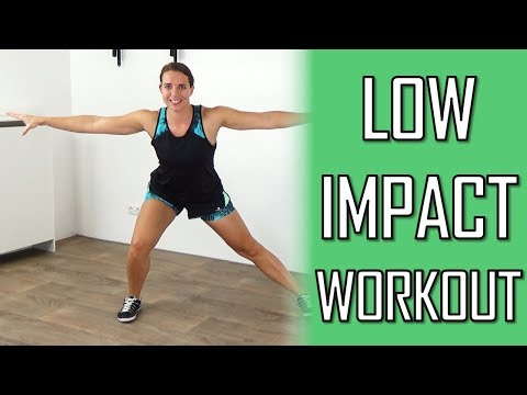 20 Minute Low Impact Total Body Cardio Workout at home – No Repeating Exercises