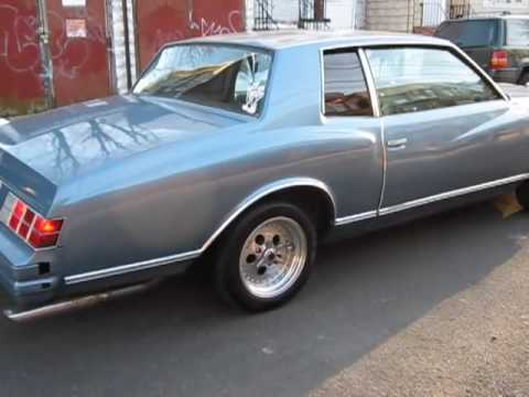 1979 Chevy Monte Carlo 350 Burn Out