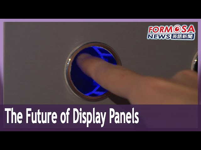 For Taiwan's display panels, the future is here