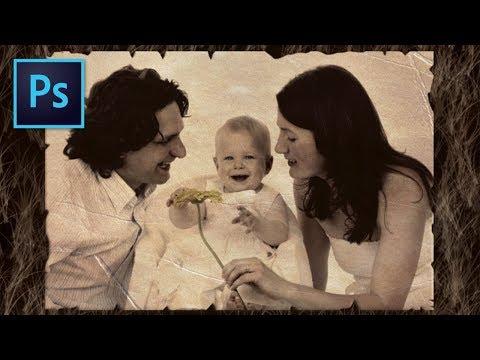 Photoshop | Efecto Foto vieja | Tutorial #10