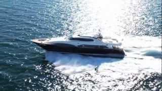 видео яхта ferretti
