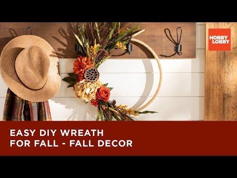 Easy DIY Wreath for Fall - Fall Decor | Hobby Lobby®