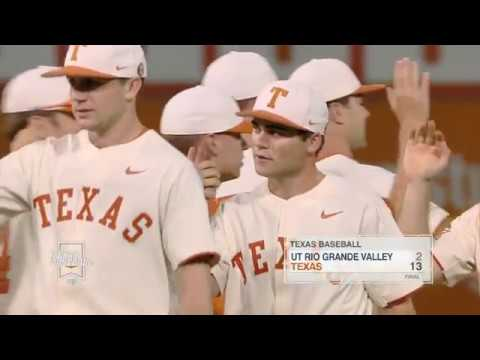Texas Baseball vs UT Rio Grande Valley LHN Highlights [April 18, 2018]