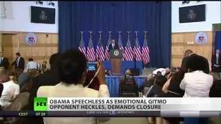 MUST WATCH Obama called out for the War Criminal he is! its about time!