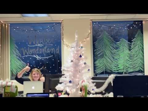 Winter Wonderland Office Decorations Youtube