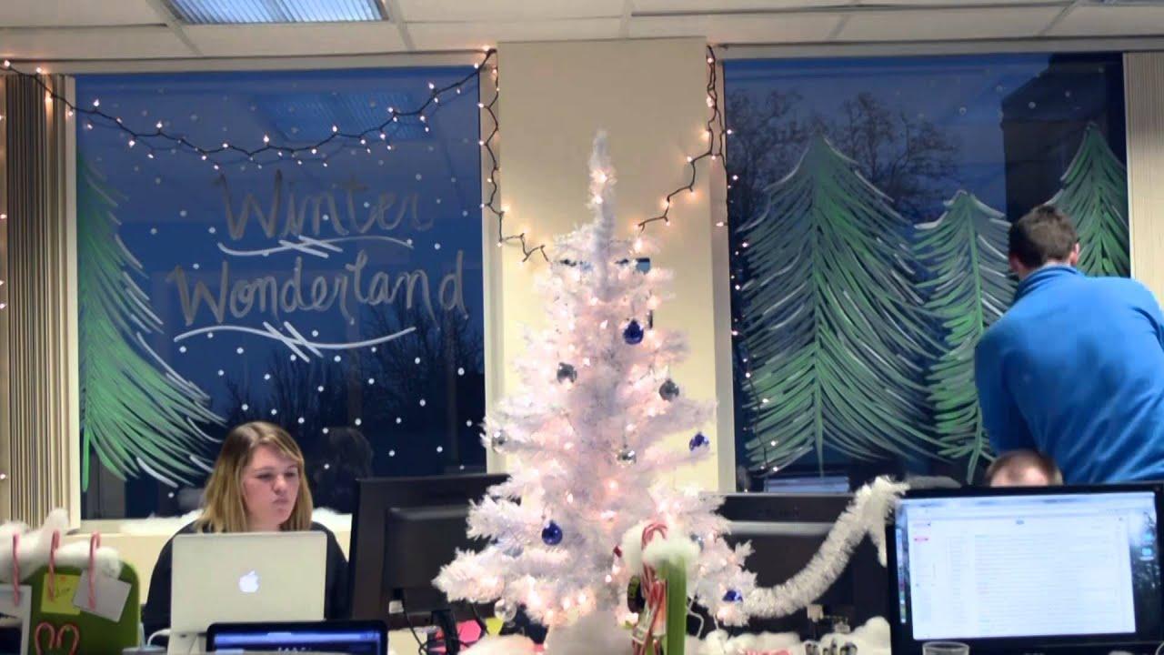 Winter Wonderland Office Decorations