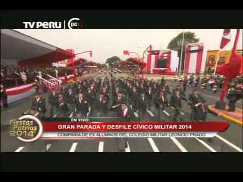 Ex alumnos de Leoncio Prado marcharon en avenida Brasil Videos De Viajes