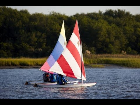 Sunfish Sailboat - A Closeup Look