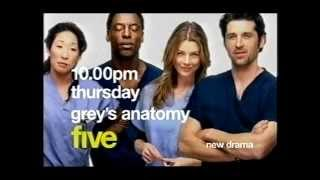 Grey's Anatomy Trailer - Channel 5 2006