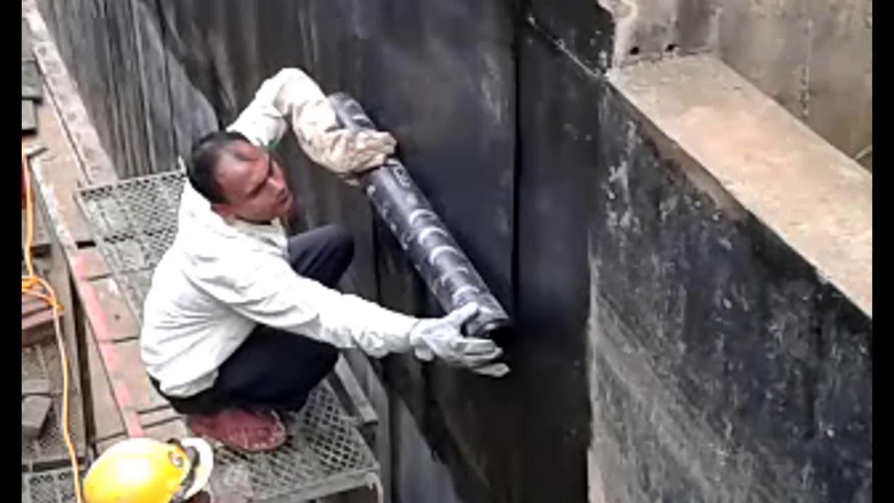 How To Waterproof On A Basement Wall Bituminous