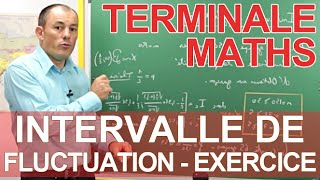 Intervalle de fluctuation - Exercice - Maths terminale - Les Bons Profs