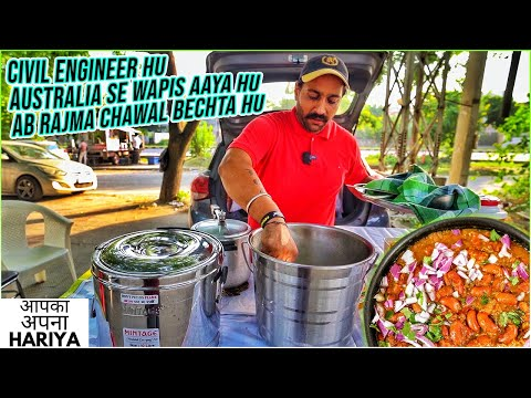 Indian Street Food   Australian Punjabi Civil Engineer ka i20 DHABA   Inspirational Story 🙏🏻