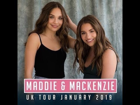 Maddie And Mackenzie Ziegler UK Tour | 2019