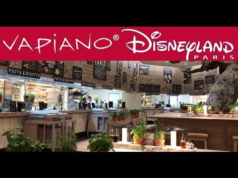 Disneyland Paris Village Restaurant VAPIANO With NO WAITERS?
