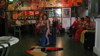 Belly Dancing at The Green Tara ---9 of 18 clip