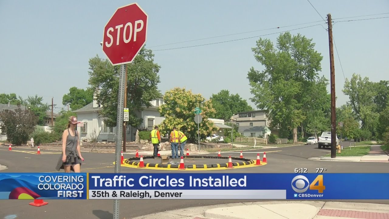 Traffic Circles Added To Busy Highlands Road To Slow Down Traffic