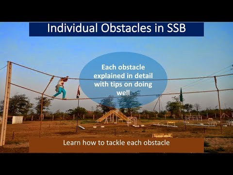 Individual Obstacles (IO) in SSB explained in  English