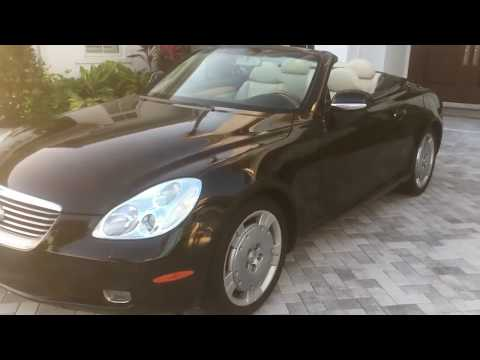 2002 Lexus SC 430 Convertible Review and Test Drive by Bill Auto Europa Naples
