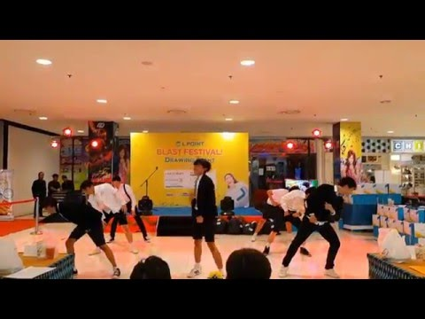 BVS (BTS Dance Cover) - Boyz with Fun + Dope @ Lotte Mart Bintaro, LPOINT Lucky Draw Event 190316