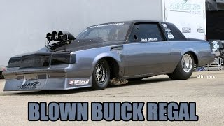 BADD BLOWN DRAG RADIAL BUICK! 526CI HEMI! '15 NMRA/NMCA SUPERBOWL!