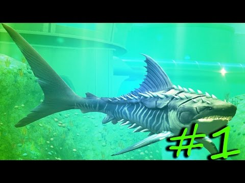 Jurassic World The Game All Aquatic Dinosaurs At Level 40 Ep1