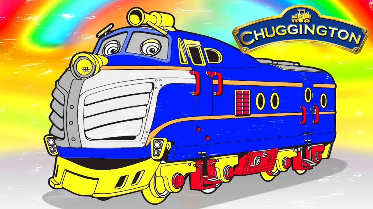Chuggington New Coloring for Childrens Coloring Brewster Chuggington ...