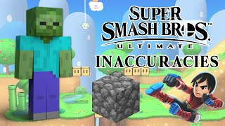 Super Smash Bros Ultimate Inaccuracies 3!