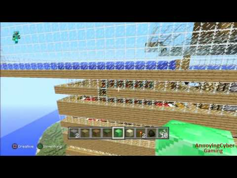 MineCraft Fixing The House!  With RawrBusta101