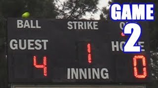 5-RUN HOME RUN OFF THE SCOREBOARD! | On-Season Softball Series | Game 2