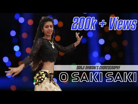 O SAKI SAKI | Batla house | BELLY DANCE | Nora Fatehi, Neha kakkar