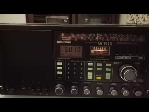 Radio Madagasikara, Antananarivo, Madagascar, 5010 kHz.